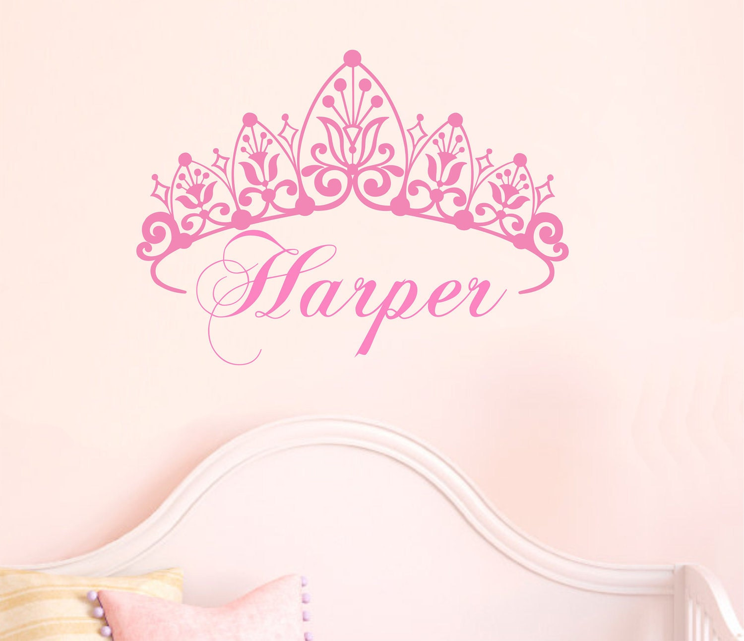 Image Result For Baby Girl Nursery Wall Decora