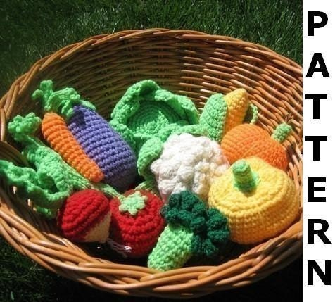 Crochet Patterns Free Food : Crocheted Food Patterns Design Patterns Catalog