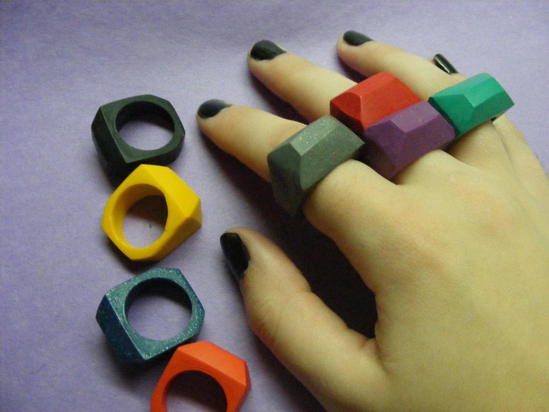 Crayon Rings Crayon Ring Misanthropycreations