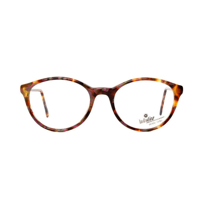 Eyeglass Frames Paint : Brown Lilac Green Vintage Eyeglasses Paint by MODvintageshop