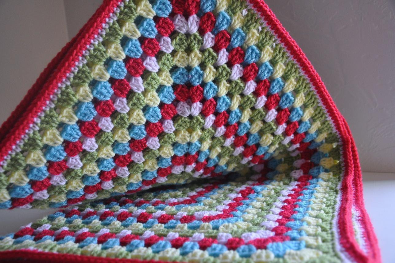 Granny Square Baby Blanket Penelope