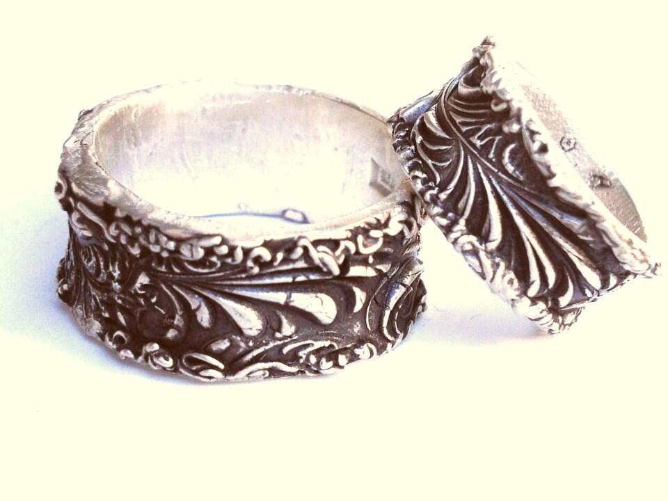 renaissance ring wedding band artisan wedding by