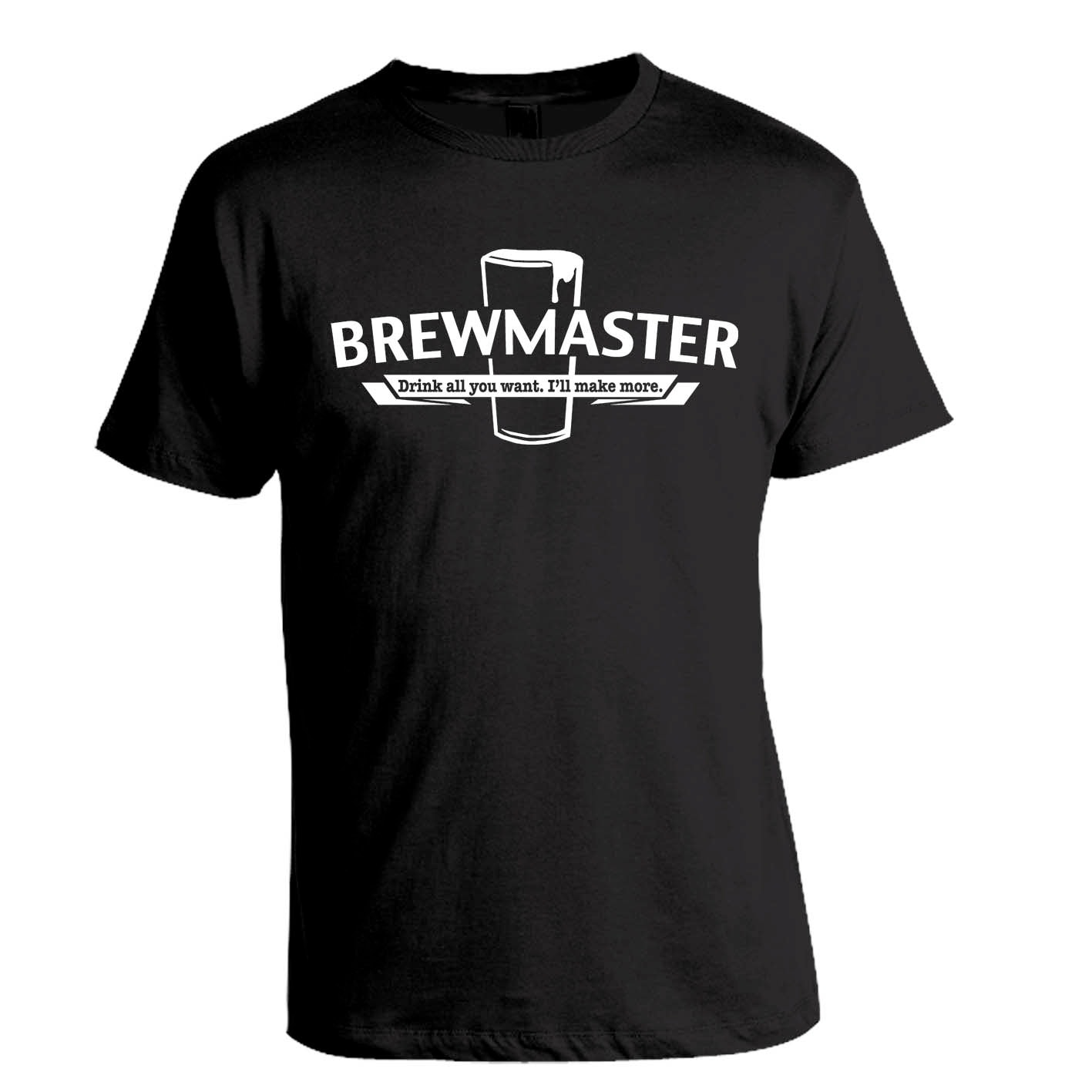Brewmaster homebrew craft beer t shirt by brewershirts on etsy for Craft brewery t shirts
