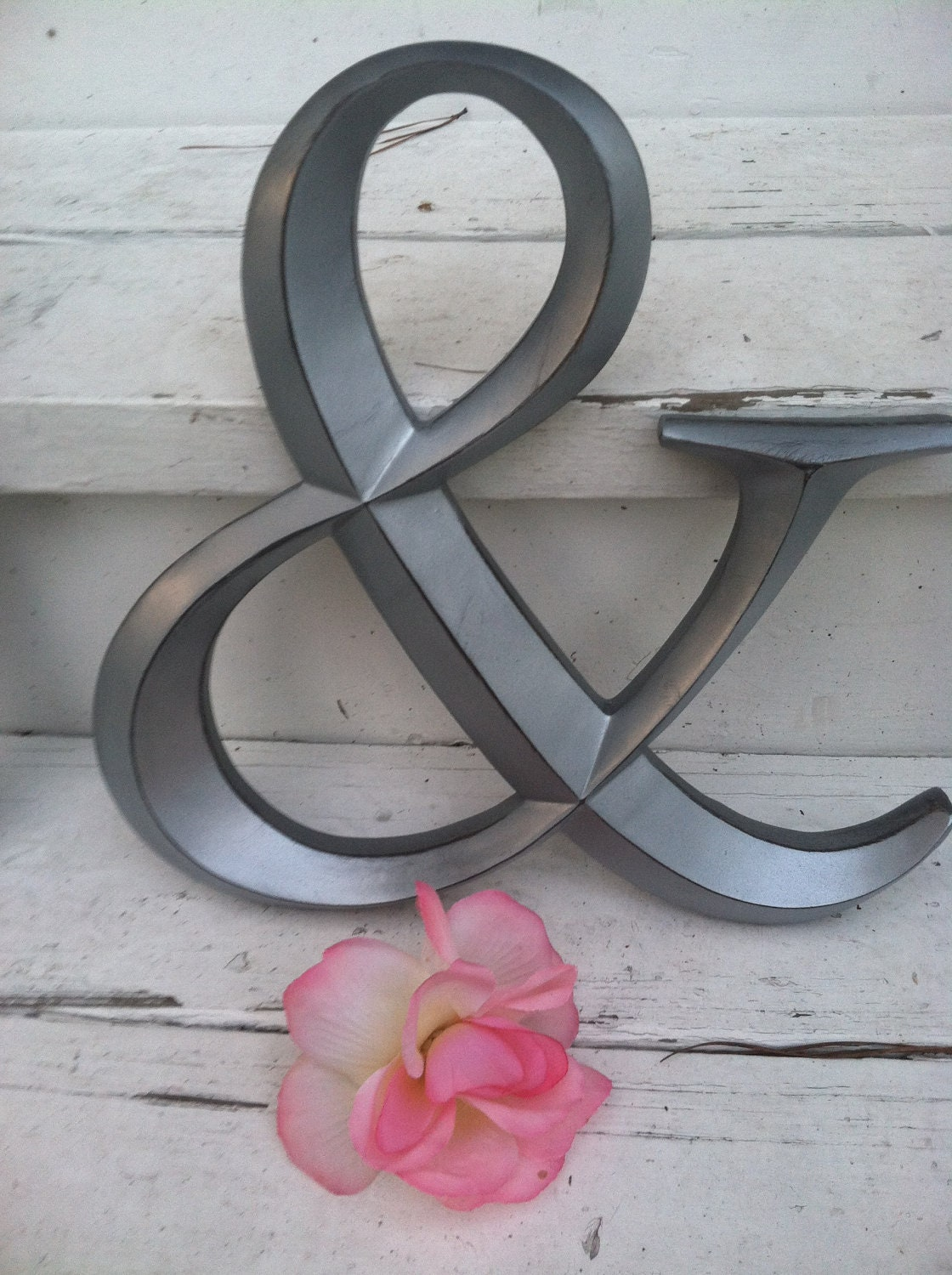 Wall decor ampersand symbol wedding decor by for Ampersand decor