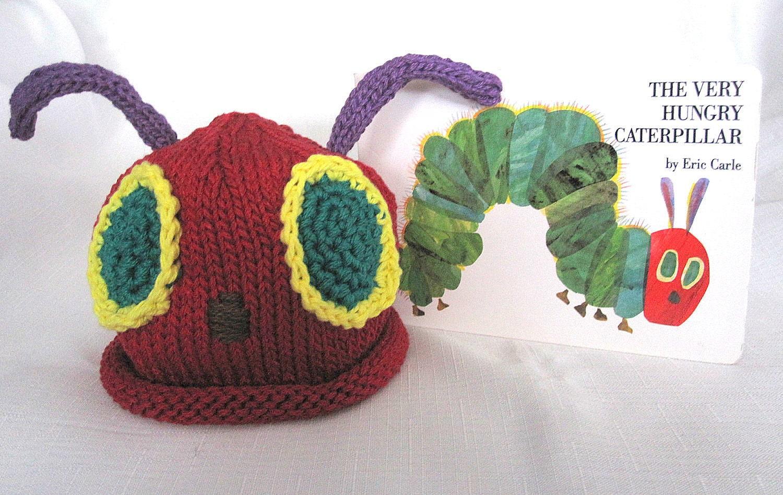 Boston Beanies Very Hungry Caterpillar Hat Knit by BostonBeanies