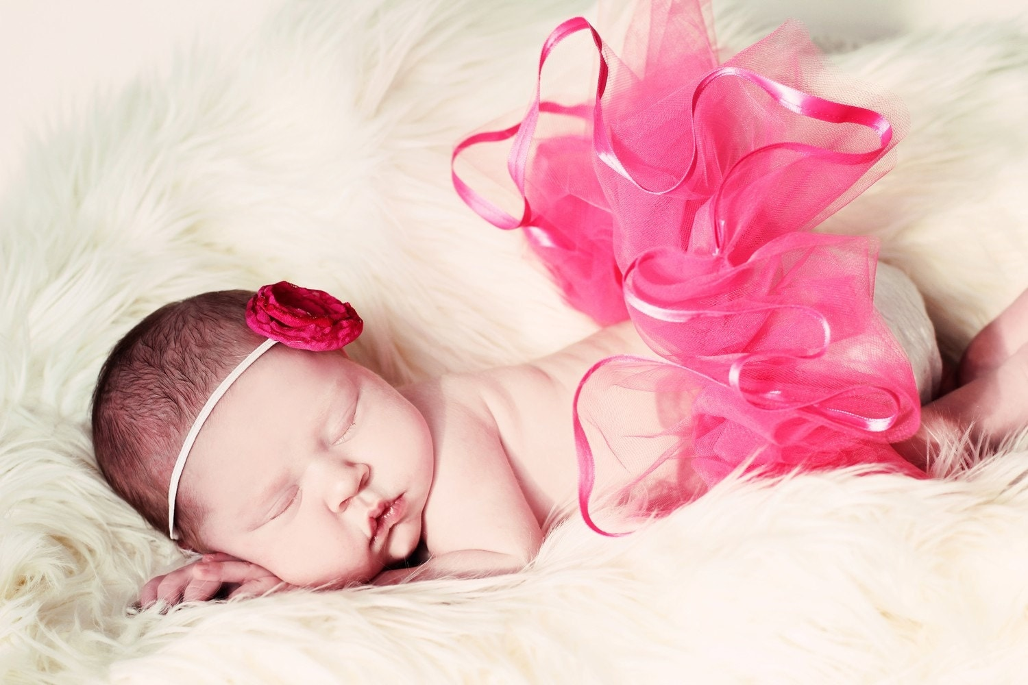CHOOSE YOUR COLOR Newborn Baby Girl Tutu by Whimsy Wendy - whimsywendy