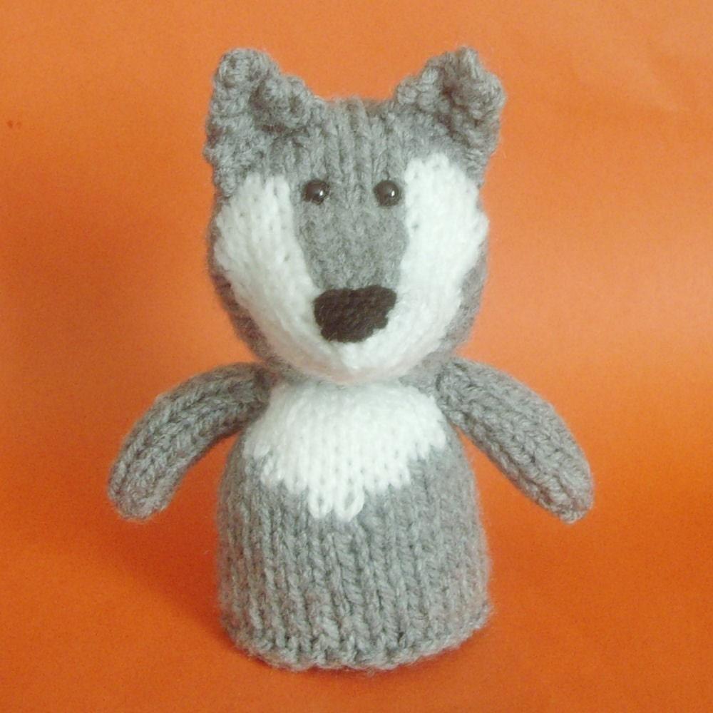 Amigurumi Wolf Pattern : Knitted Amigurumi Wolf Pattern PDF format by Jellybum on Etsy