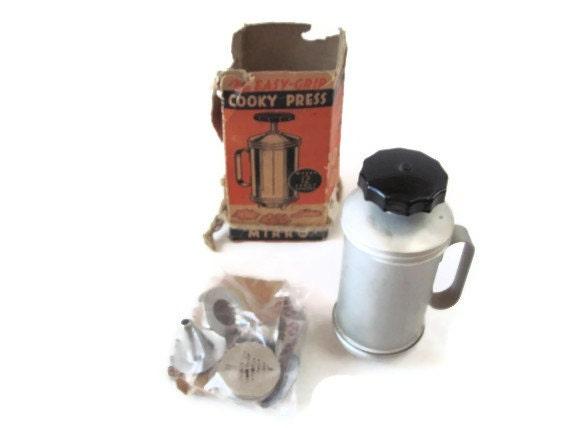 Items Similar To Mirro Aluminum Cookie Press With 24 Discs