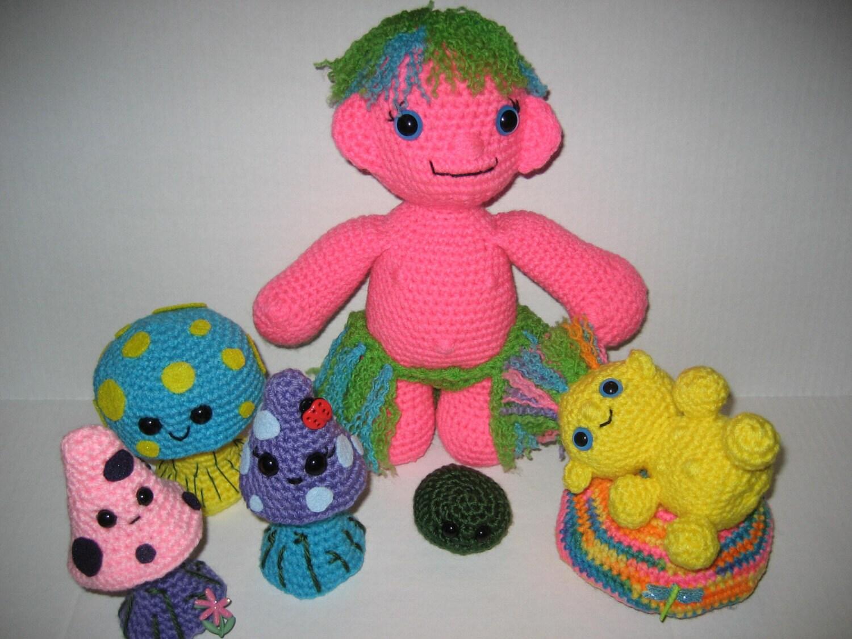 Amigurumi Troll and Mushroom Crochet Pattern by ...