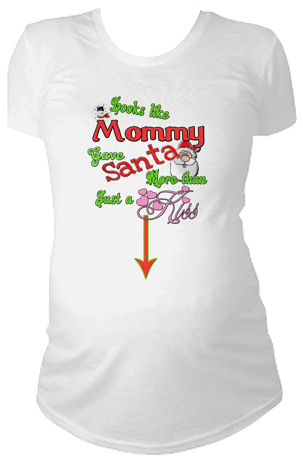 Funny pregnant christmas shirts – Modern clothing designers