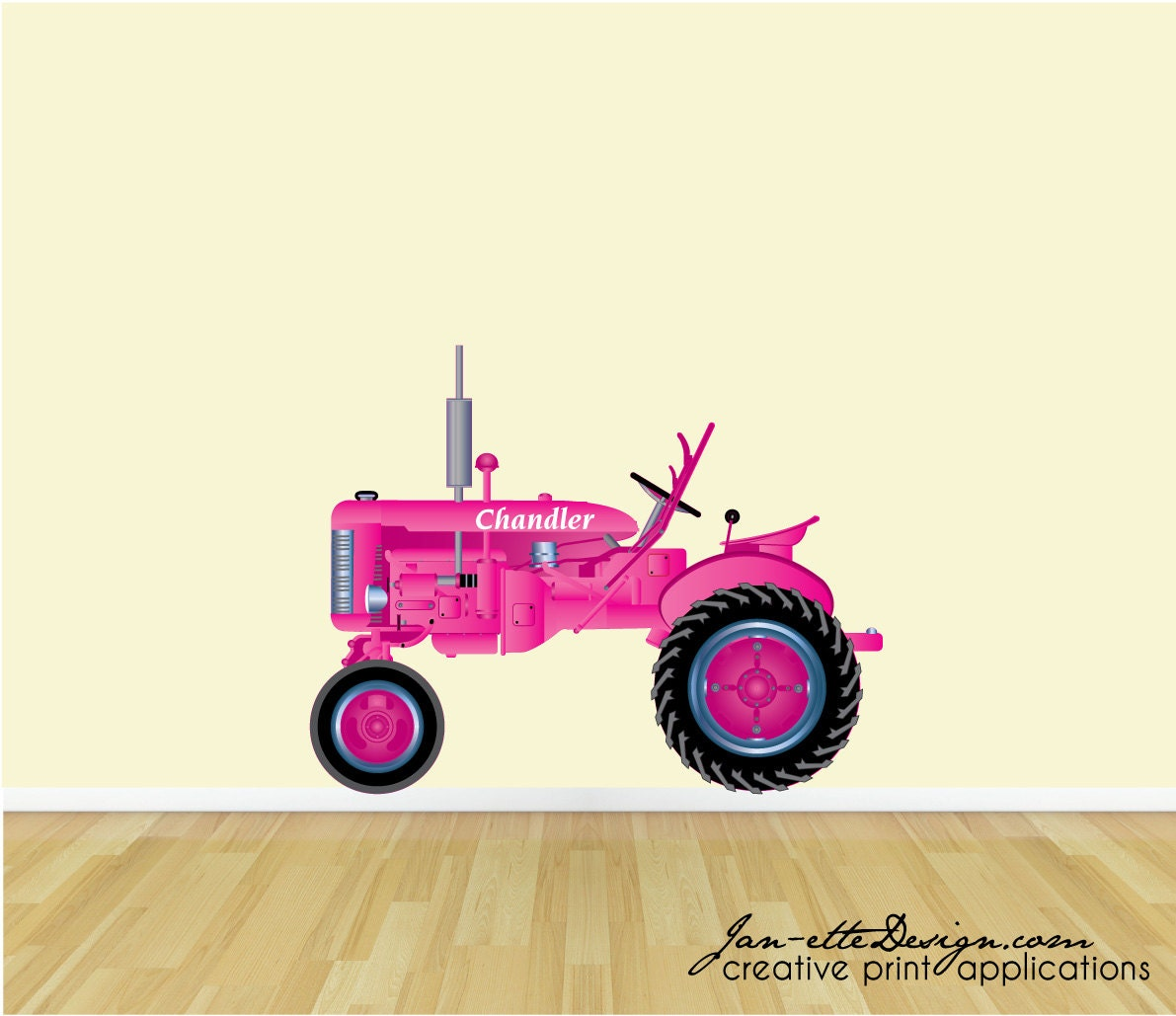 Girly John Deere Paintings : Unavailable listing on etsy
