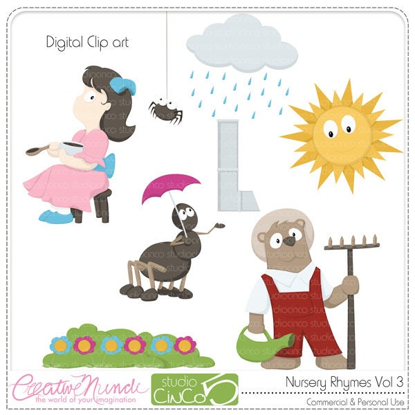 clipart pictures of nursery rhymes - photo #43