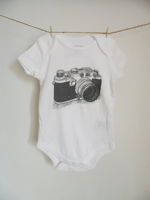Leica Camera Screenprint Onesie