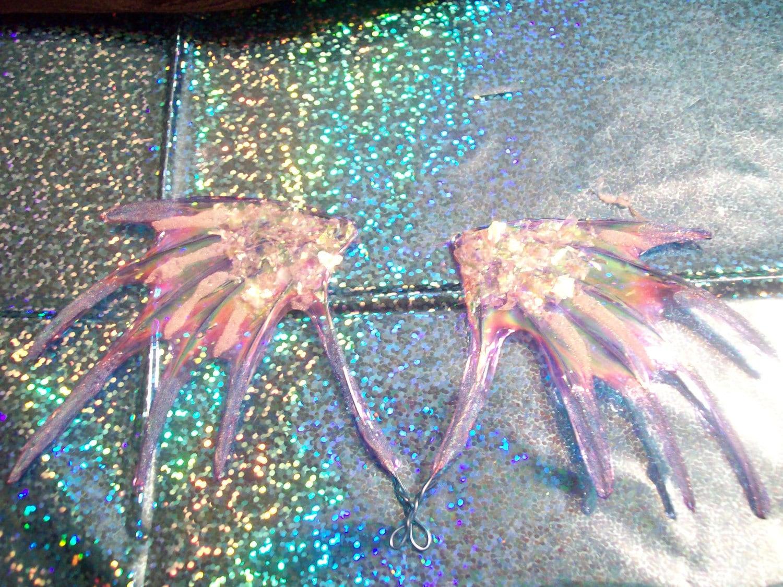 OOAK Custom Ice Dragon fairy wings by VenomVixen on Etsy