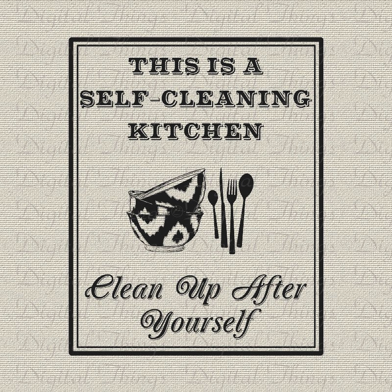 Kitchen cleaning quotes kitchen clean up quotes quotesgram