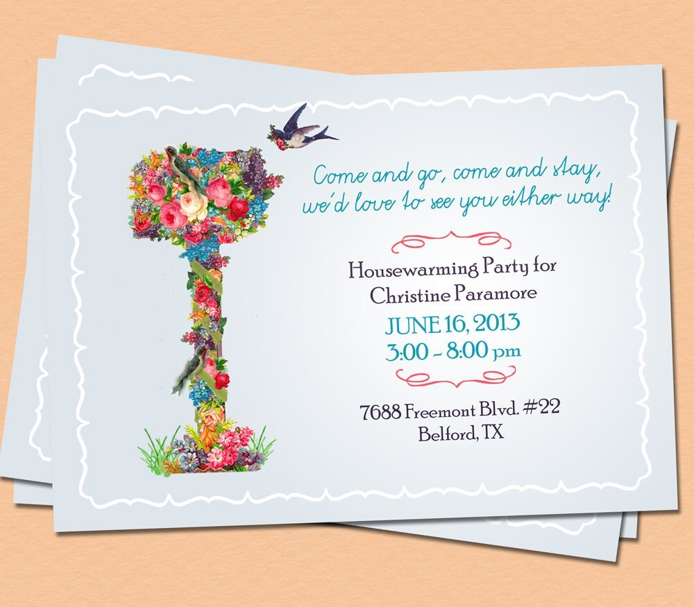 Housewarming Invite for awesome invitations template