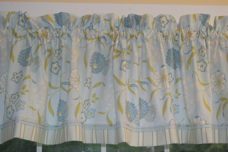 mm designs light blue white floral toile by. Black Bedroom Furniture Sets. Home Design Ideas