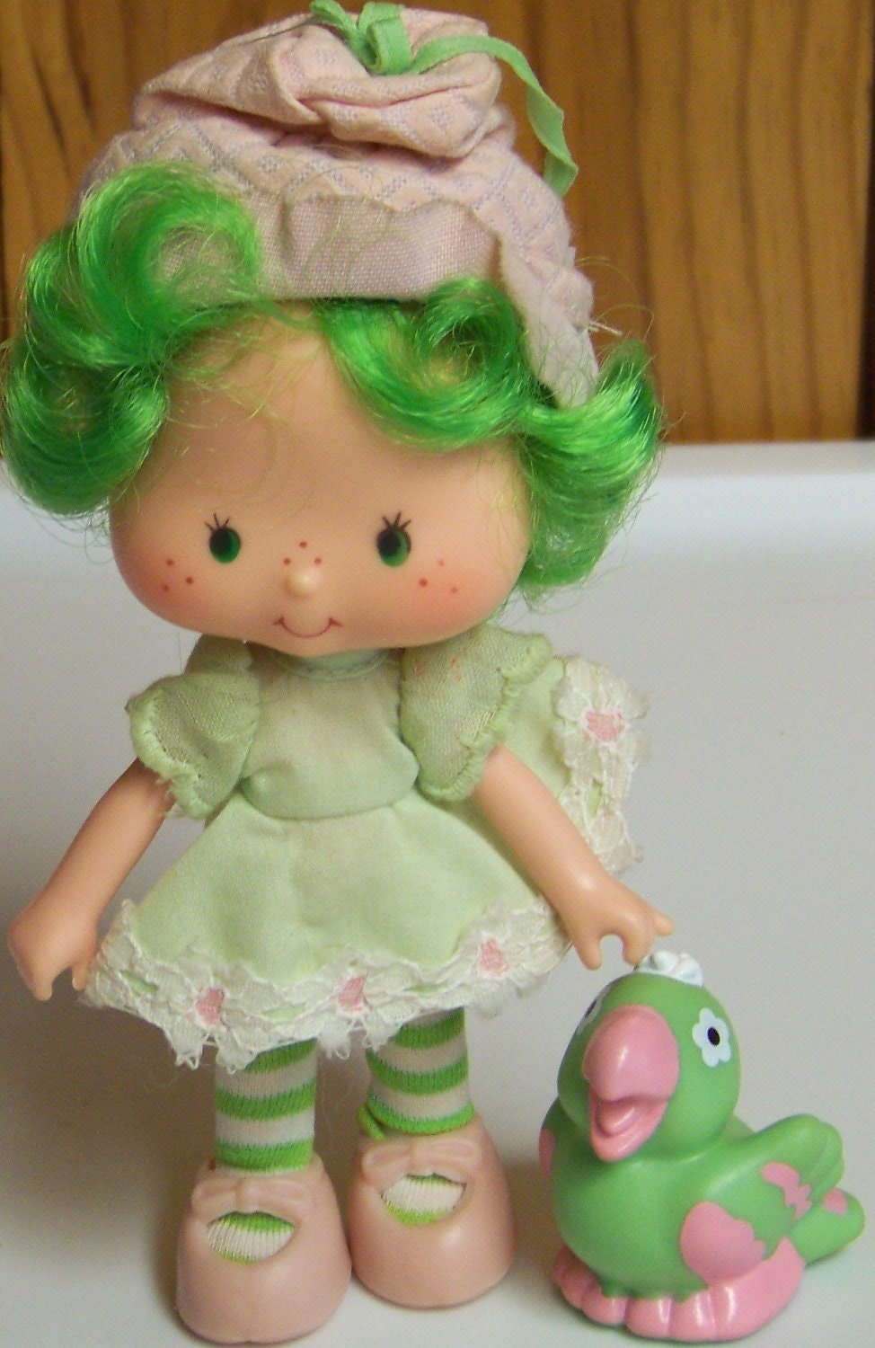 Strawberry Shortcake LIME CHIFFON doll & by EastEndTreasures