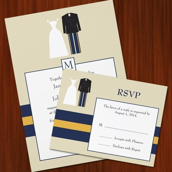 Military Wedding Invitations for your inspiration to make invitation template look beautiful