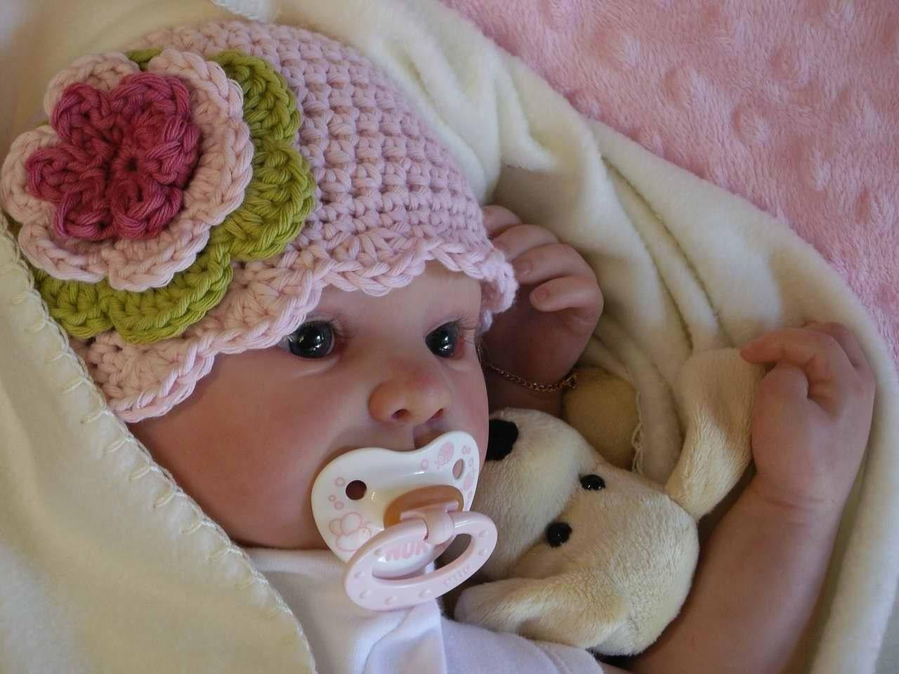 Easy Peasy Crochet Hat Patterns : Easy Peasy Shell Trim Baby Hat Crochet Pattern by ...