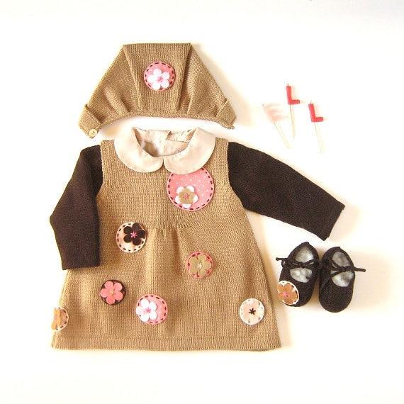 لباس مجموعه ای کودک شیرین