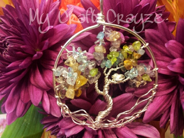 Tree of Life With Birds Nest Pendant - MyCraftCrayze