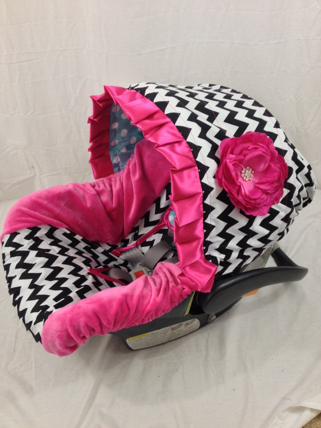 Make Car Seat Strap Covers