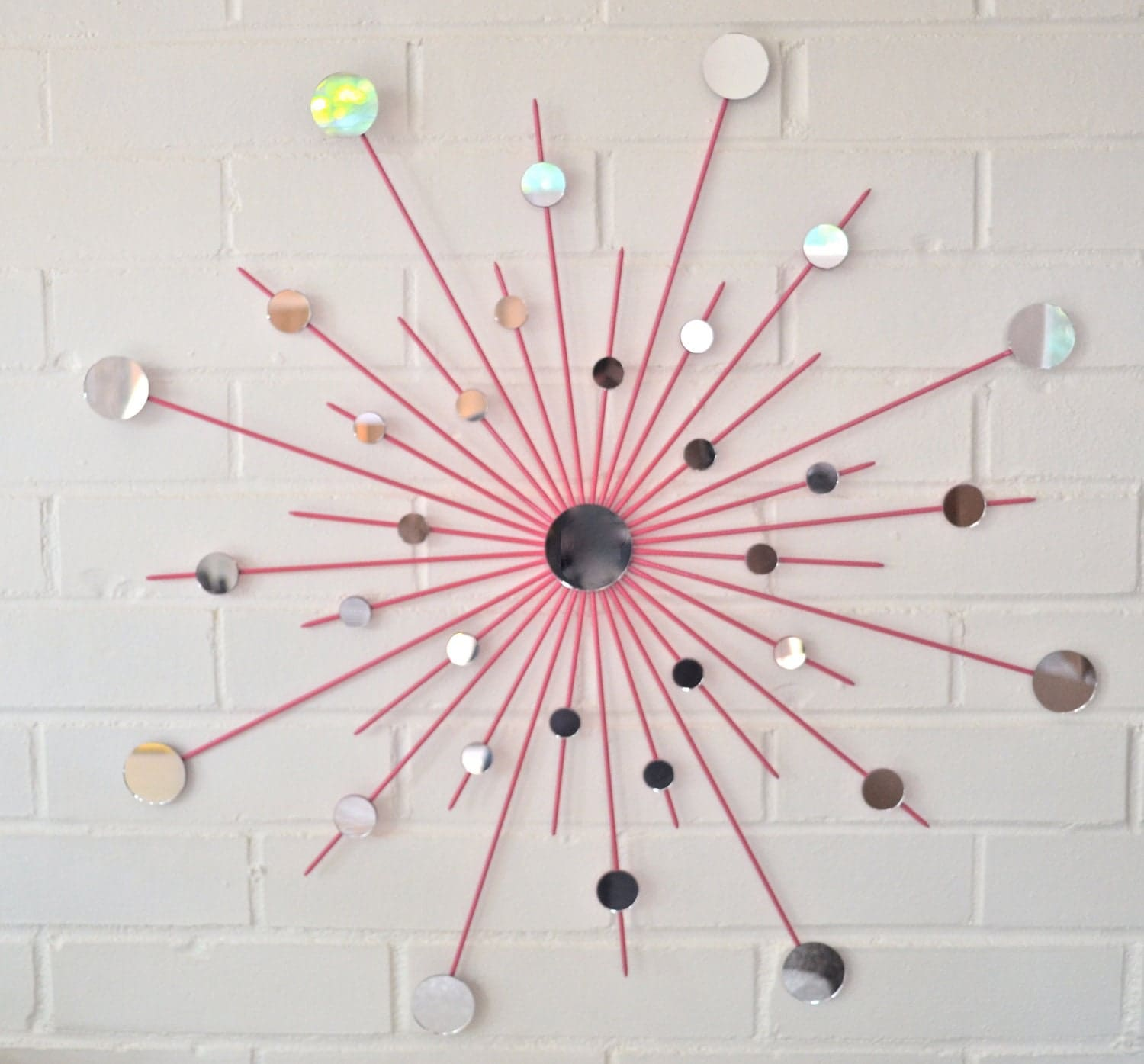 Retro Starburst Wall Decor : Unavailable listing on etsy