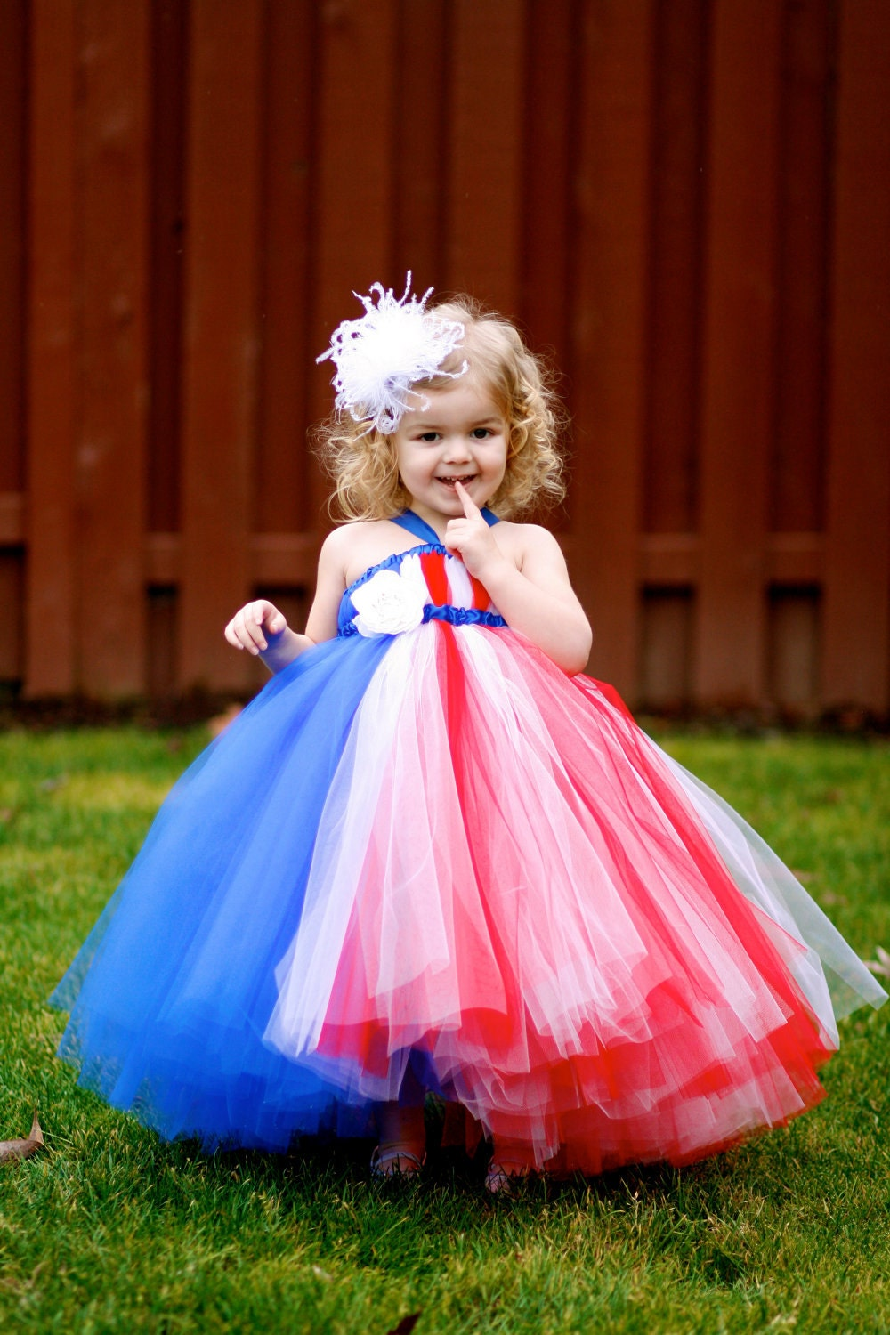 Lil Miss Independence Tutu Dress - July 4th Dress - NB, 3mo, 6mo,  or 12mo