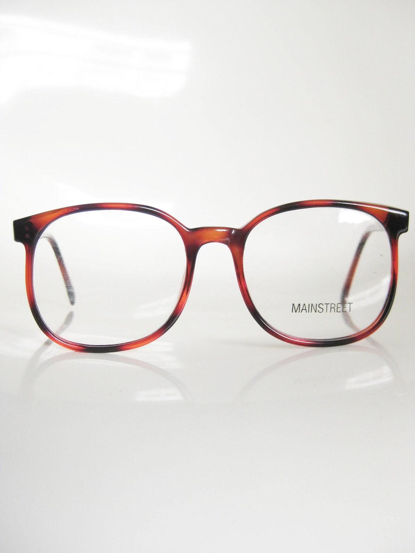 Bending Plastic Frame Glasses : Vintage HORN RIM 1980s Glasses Womens by OliverandAlexa on ...