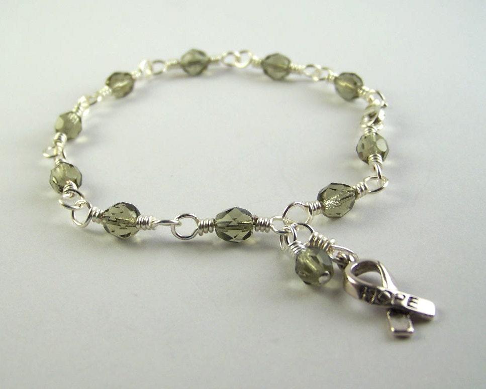diabetes awareness bracelet by hopefaithandbeads on etsy