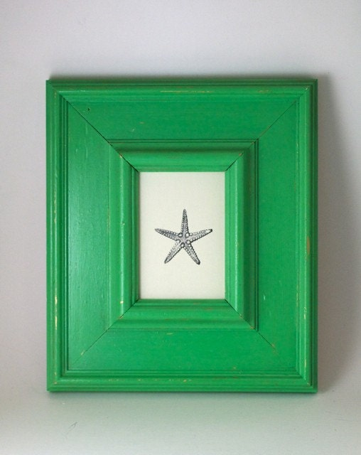 Seaside Green Picture Frame - Beach Home Decor