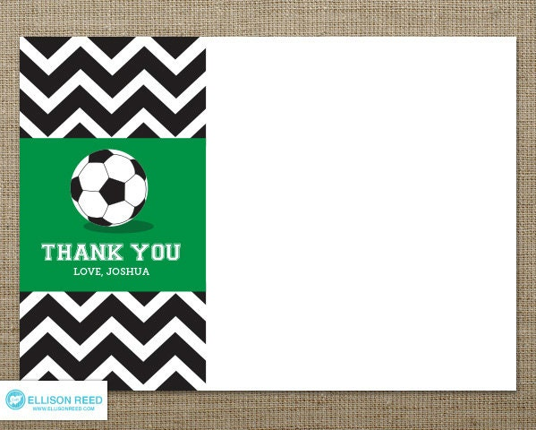 PRINTABLE THANK YOU NOTE CARDS FOR SOCCER COACH | just b.CAUSE