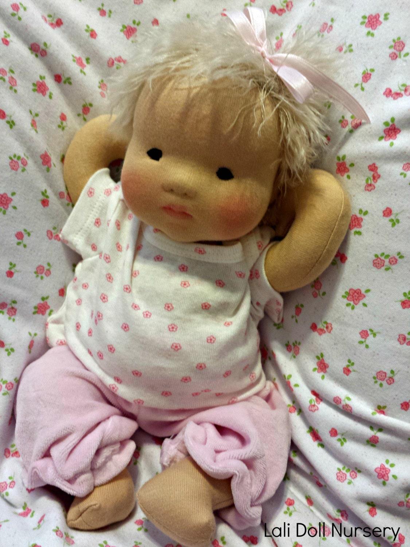 Waldorf Doll Wig 9