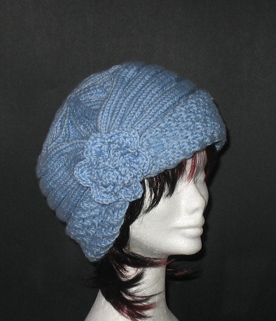 FREE KNITTING PATTERN FOR CLOCHE HATS - VERY SIMPLE FREE KNITTING PATTERNS