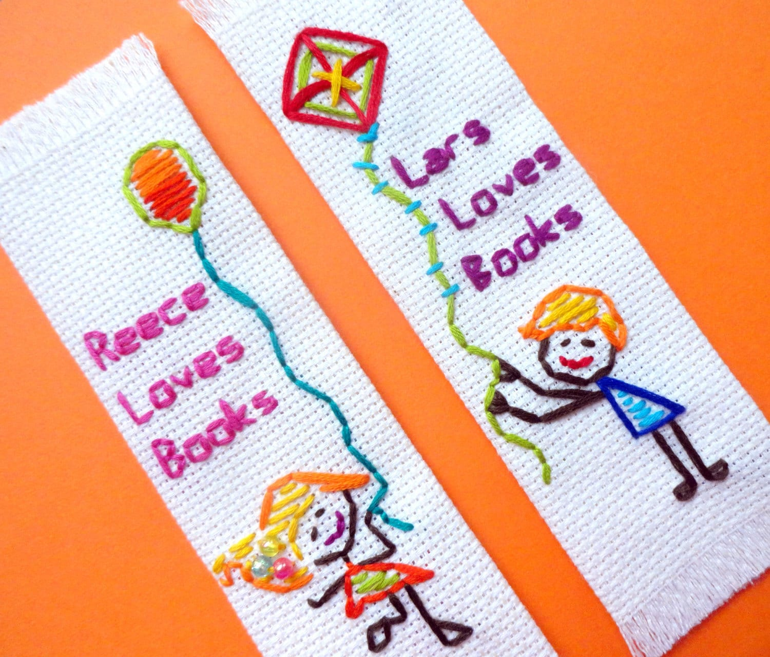 Craft or Die - Personalized handmade bookmark for kids
