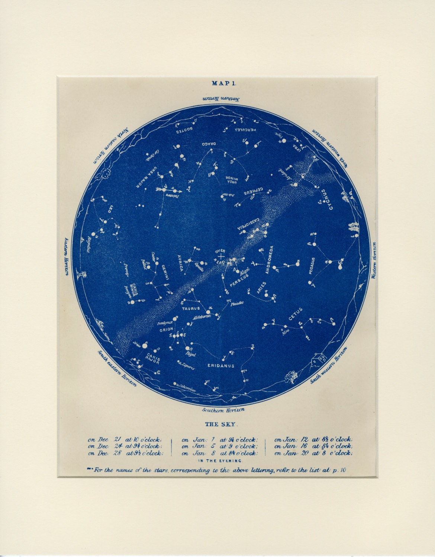 Capricorn star map