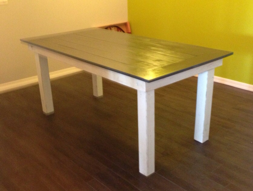 Handmade reclaimed wood dining table by famacreations on etsy - Handmade wooden dining tables ...