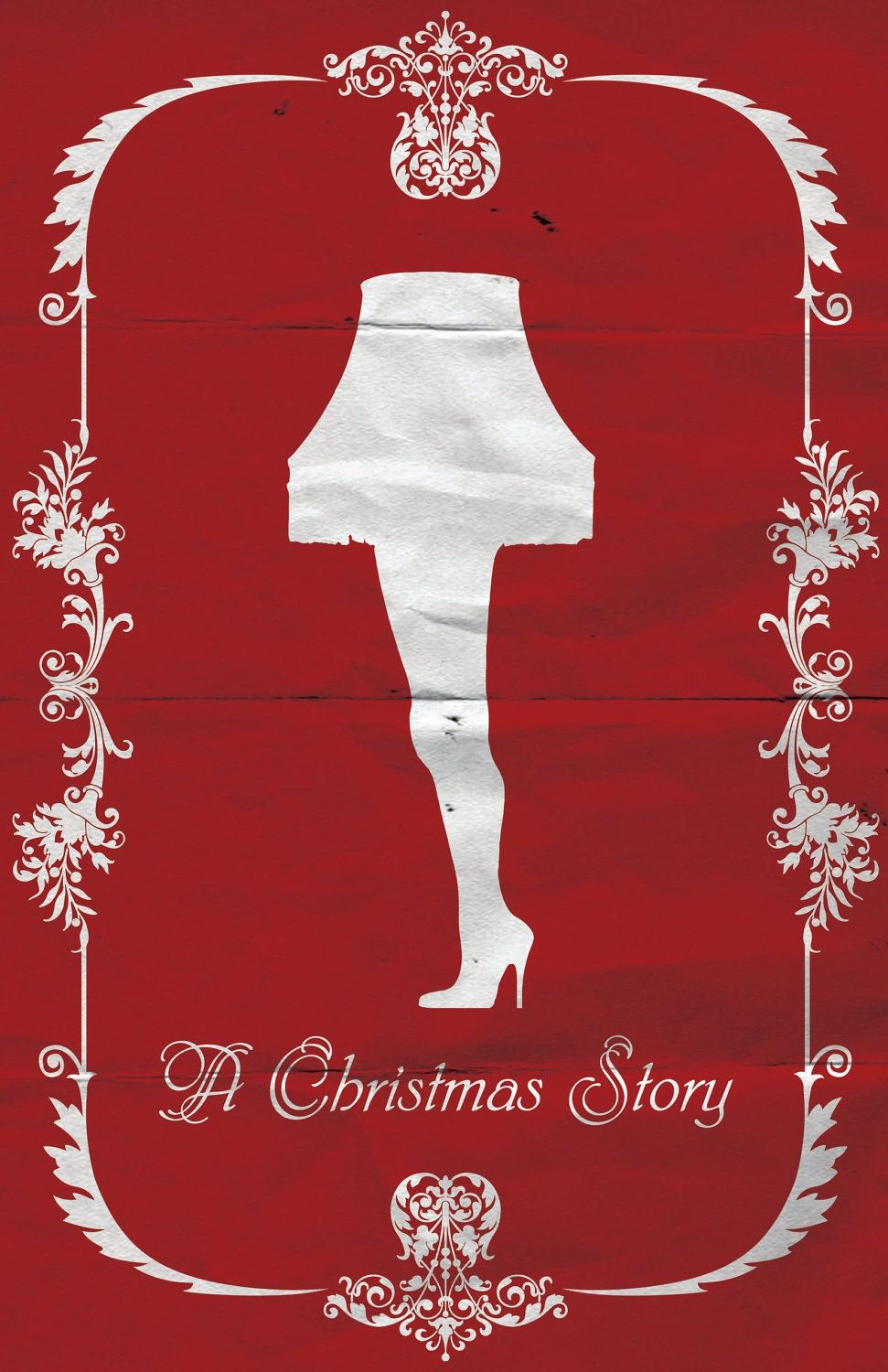 Christmas story film poster by sap41387 on etsy