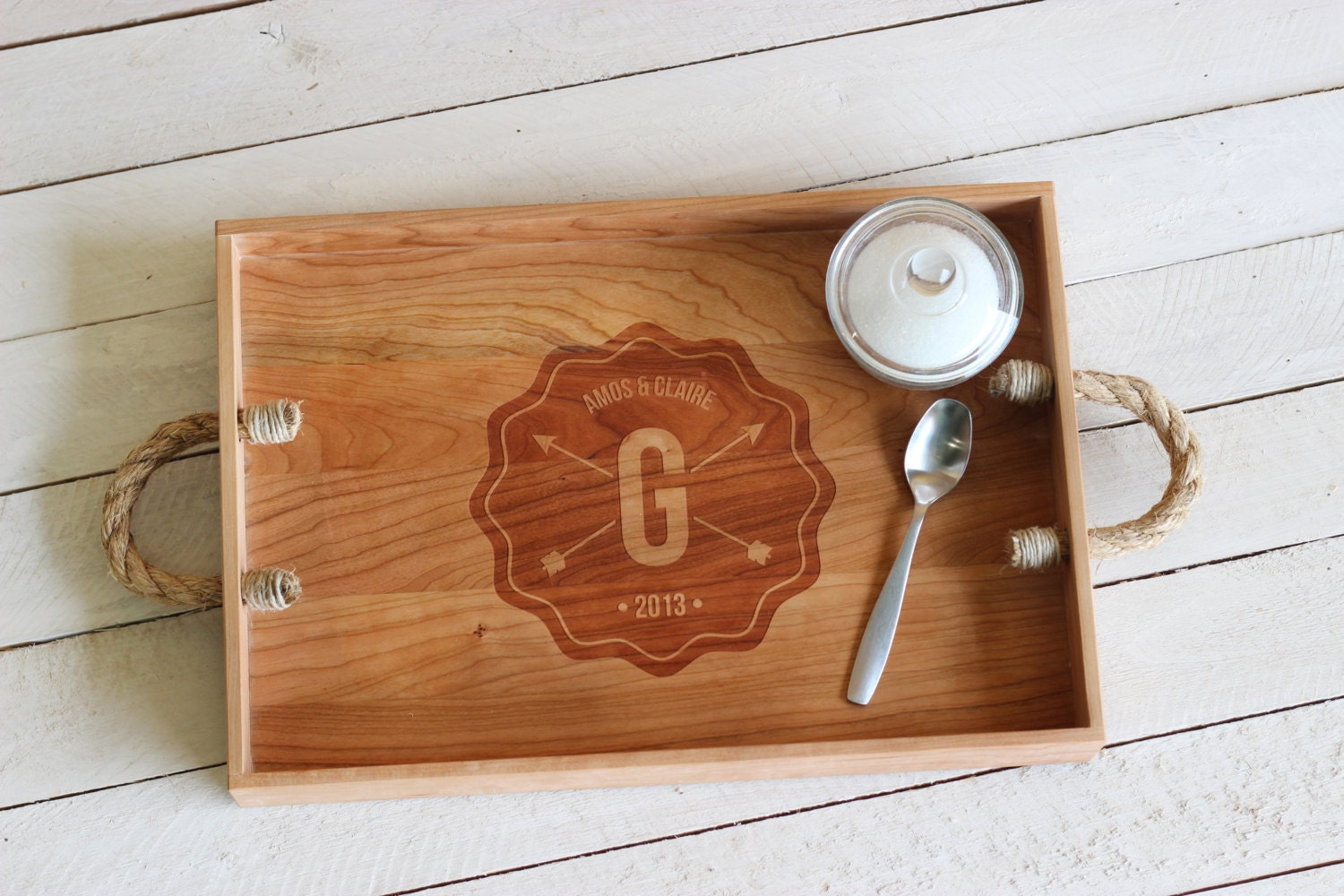 Richwood Creations Engraved Kitchen Tray Gift Idea