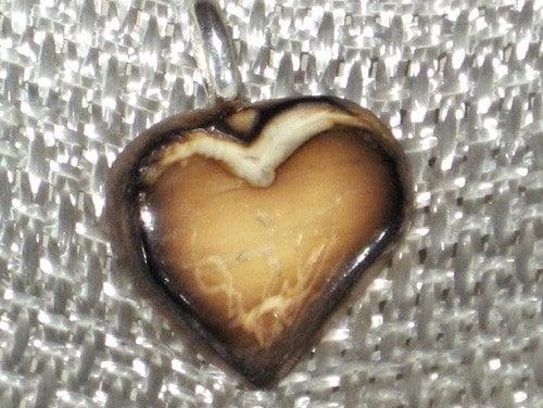Tagua Nut Heart - RoArt