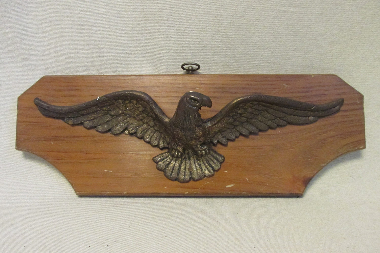 Mounted Brass Eagle Vintage Wall Hanging Home Decor By By