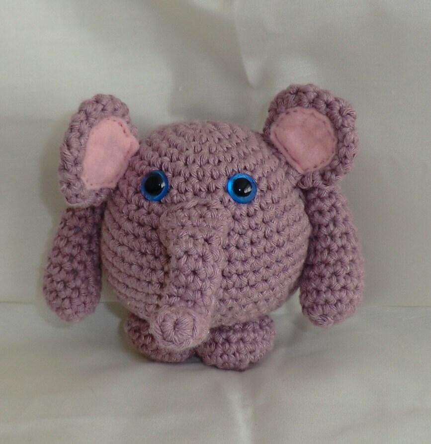 Amigurumi Crochet Patterns Elephant : nuffalump elephant crochet amigurumi pattern by AmigurumiBarmy