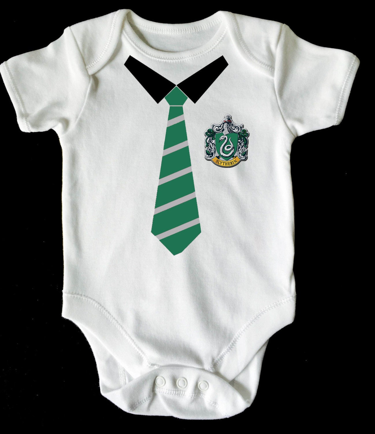 Harry potter slytherin baby vestromperbodysuit