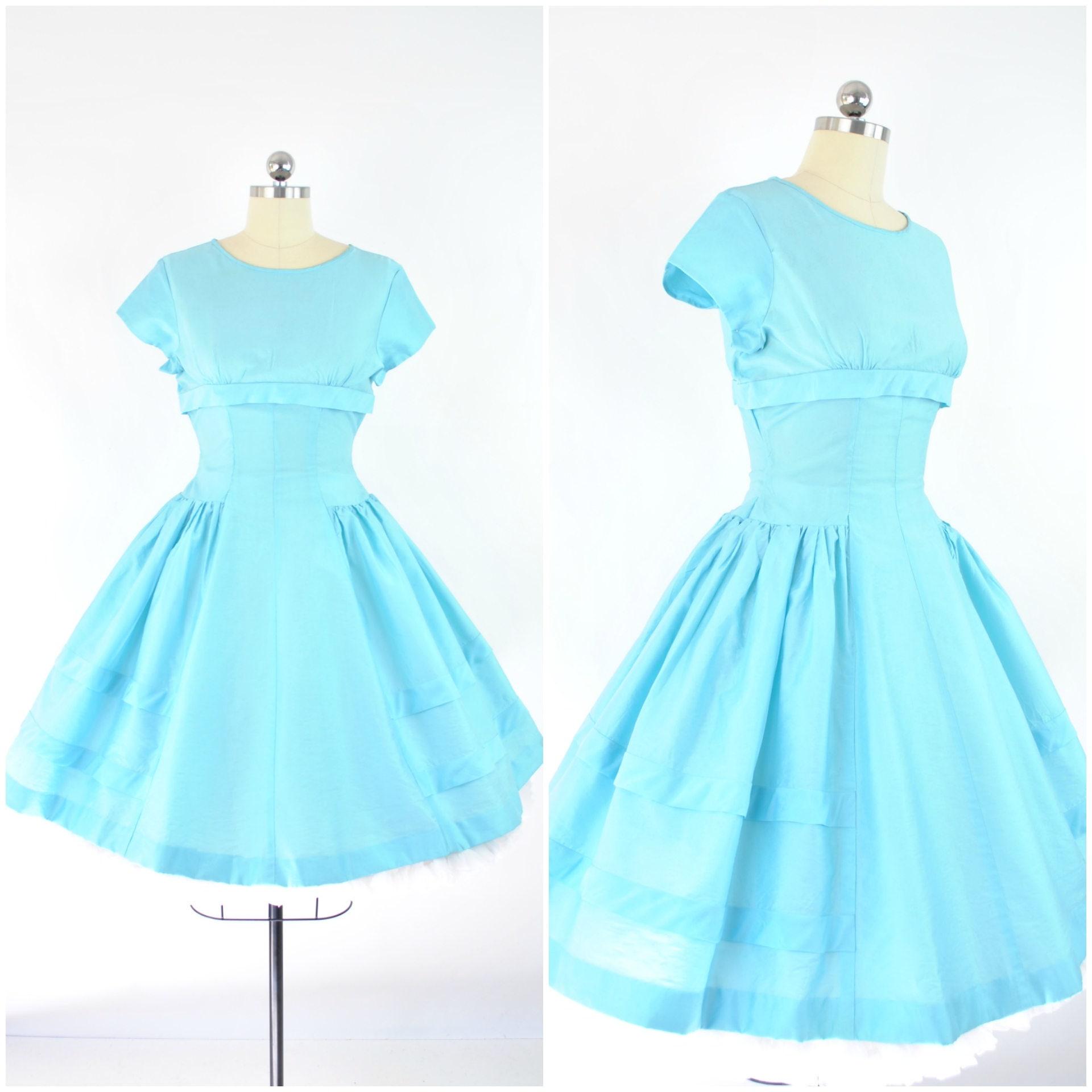 1950s party dresses