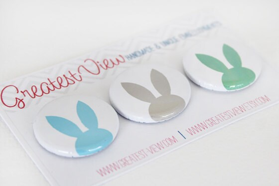Bunny Badges - Boy