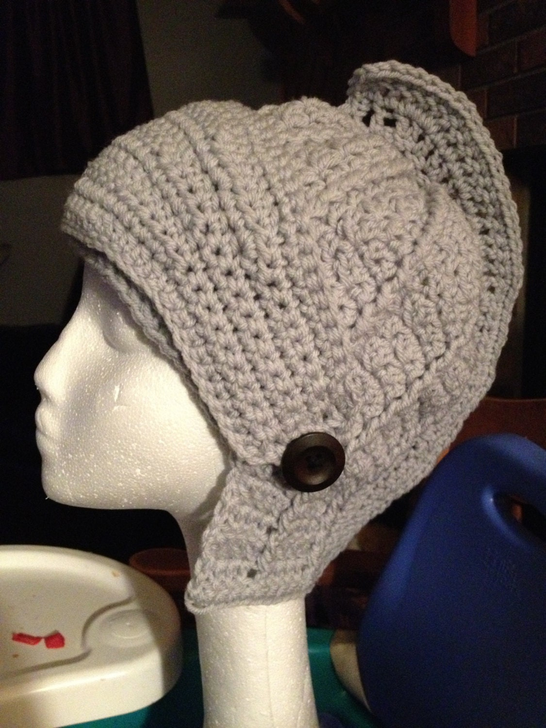 Crochet Pattern Viking Hat : Pattern Only Viking Helmut Hat by Crochet4mybutterfly on Etsy