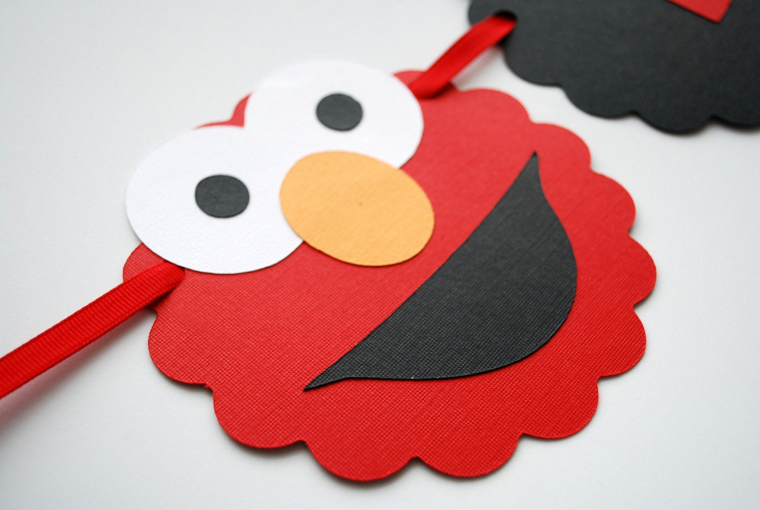 Elmo Banner , Name Banner Ready for your party -Up to 8 Letters A390