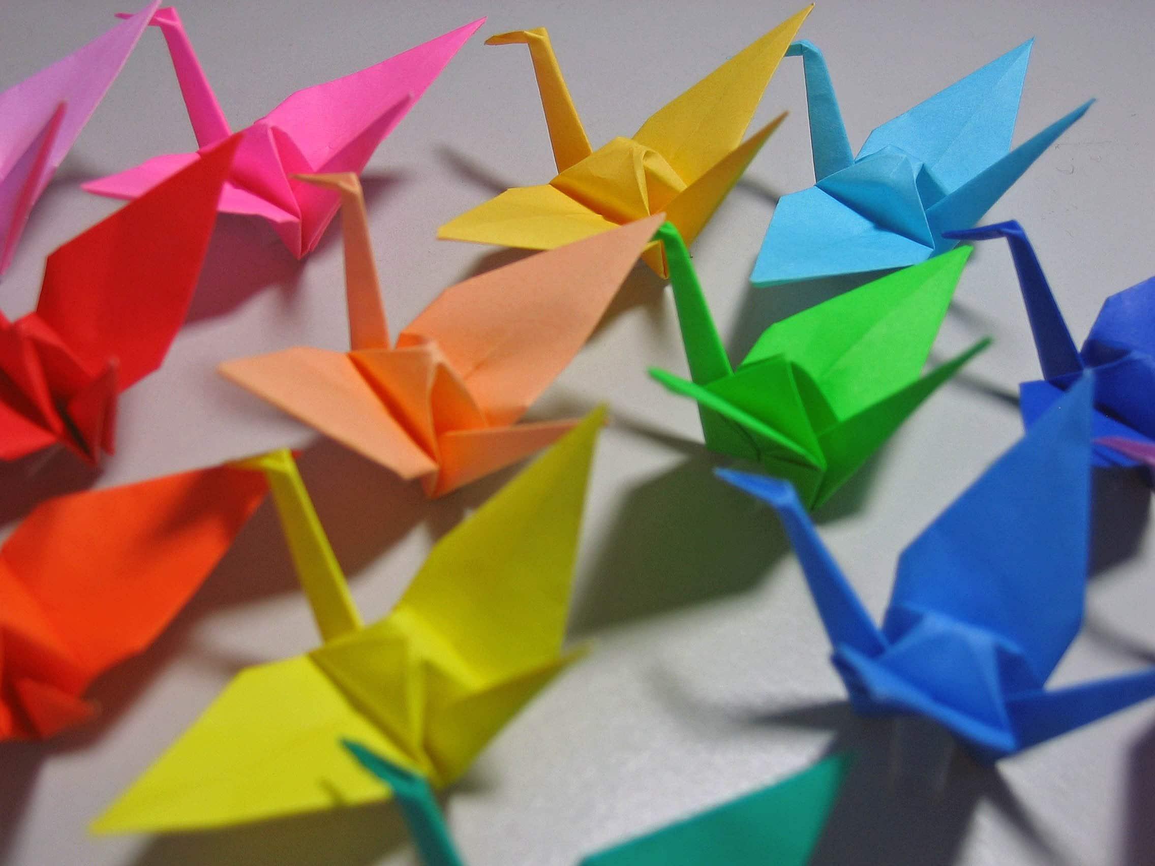 1000 Origami Paper Cranes Senbazuru FREE US AND by MadeByJo - photo#7
