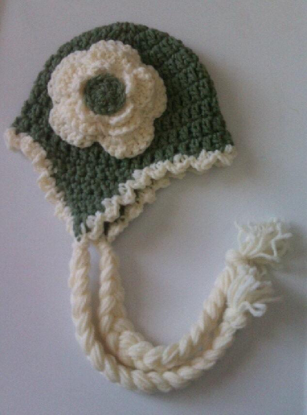 Cute crochet green cream ruffle edging by tjcrochetcreations for Crochet ruffle edge